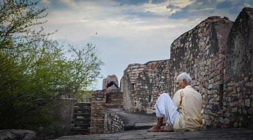 Free stock photo of calm, health, india