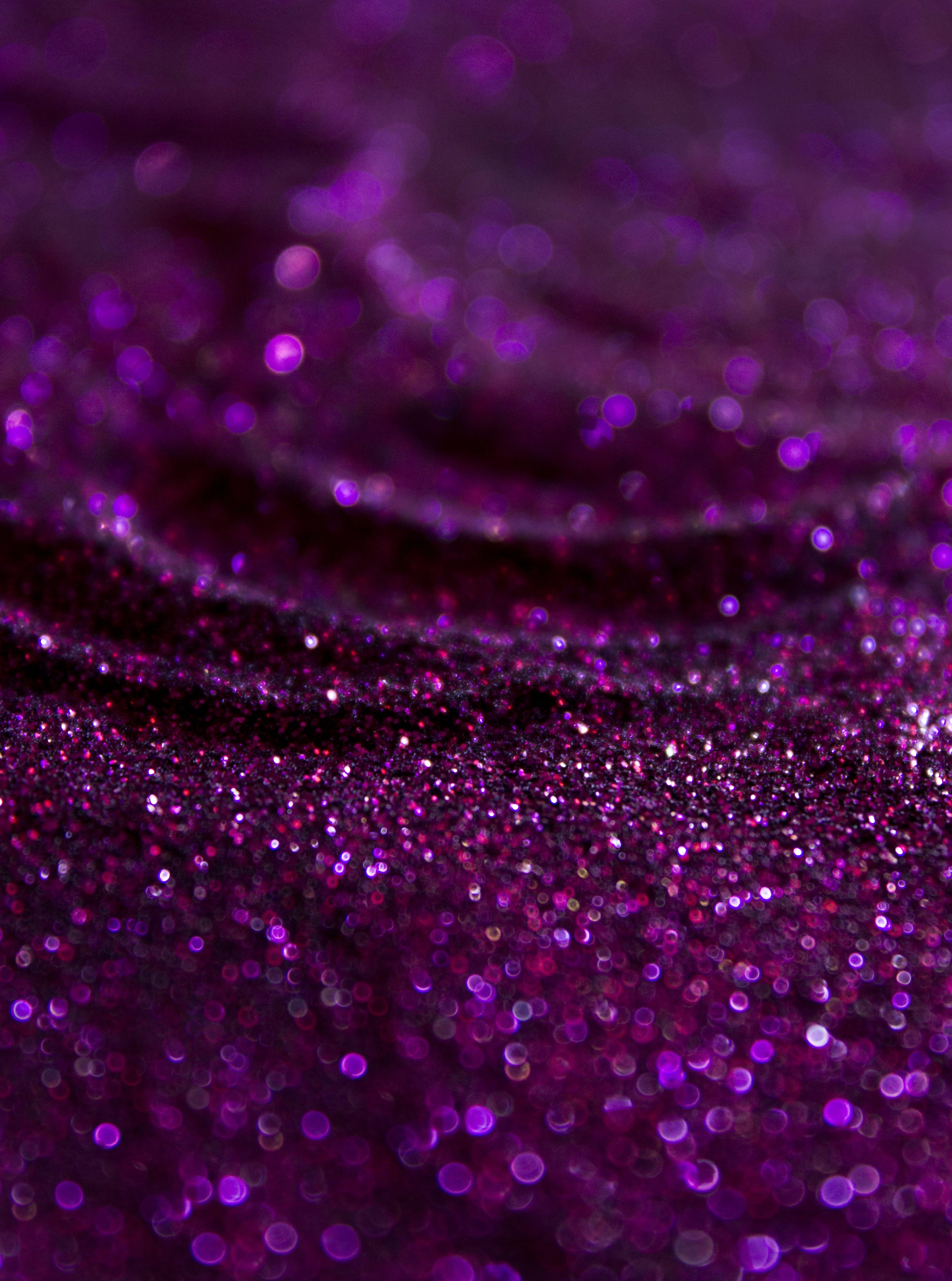 Free stock photo of glitter, Purple glitter