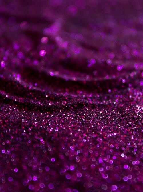 Imagine de stoc gratuită din sclipici, sclipici violet