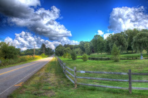 Free stock photo of country, country road, hdr, road