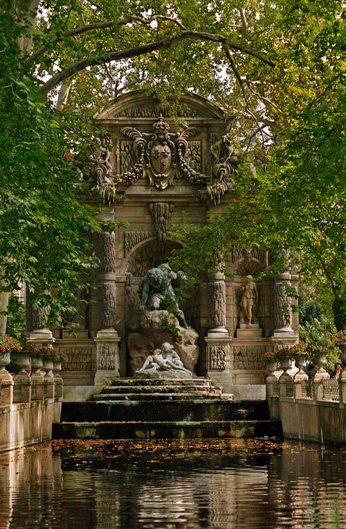 The Medici Fountain at the Luxembourg Gardens