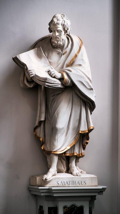 A Sculpture of Saint Matthew