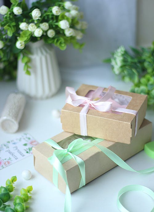 Gifts Boxes with Ribbons