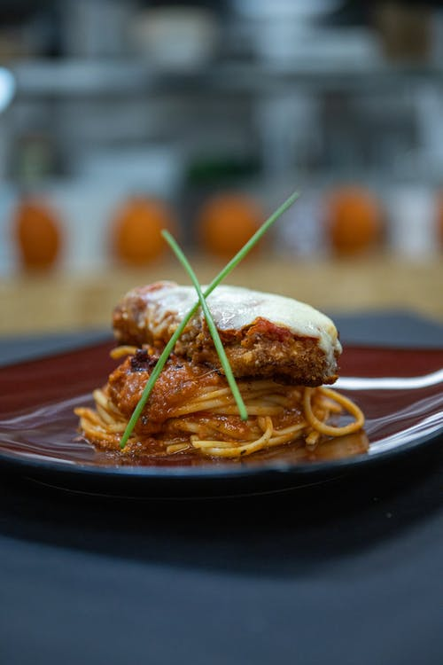 Free stock photo of chicken parm, dinner, food