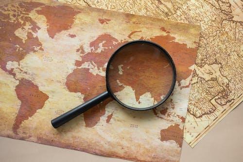 フラットレイ, 上面図, 地図の無料の写真素材