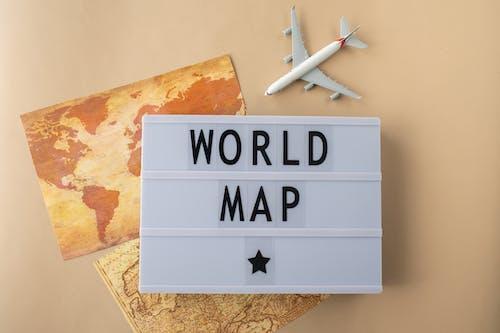 一般開銷, 世界地圖, 信件 的 免費圖庫相片