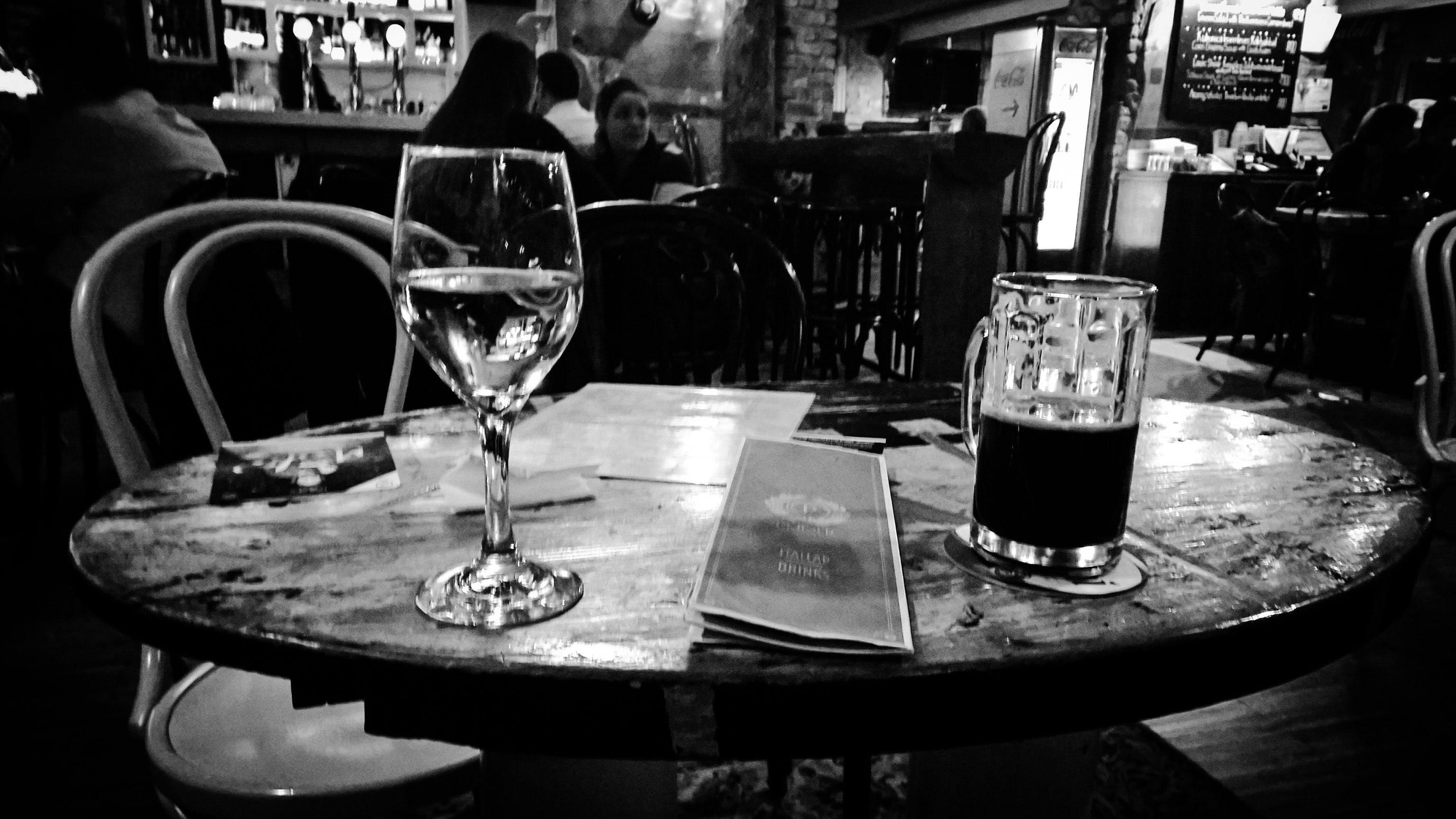Free stock photo of night, vintage, beer, wine