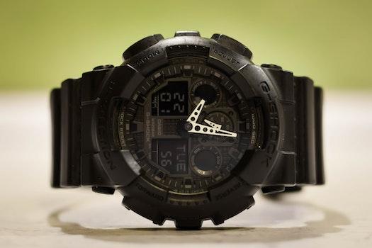 Free stock photo of night, wristwatch, watch, black