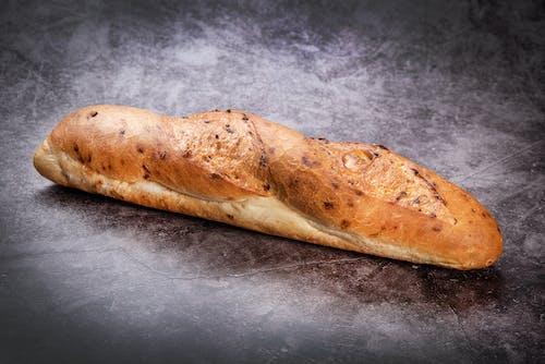 Bread on Gray Table