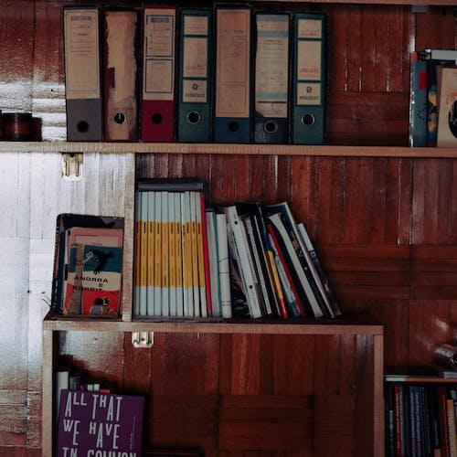 Photos gratuites de bibliothèque, bois, en bois