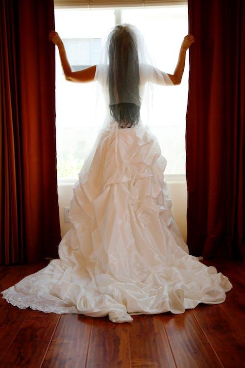 Free stock photo of bridal, bride, veil