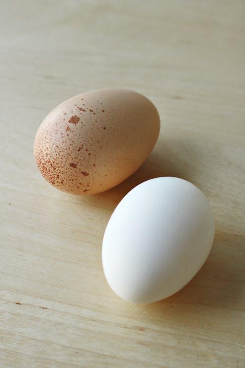 Kostenloses Stock Foto zu braunes ei, cholesterin, ei