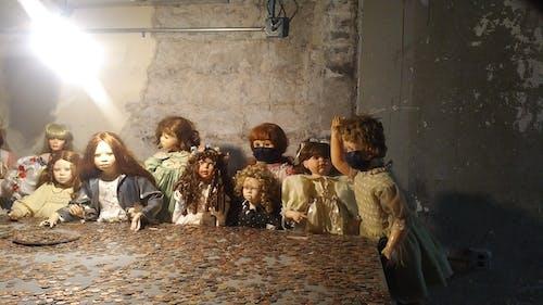 Free stock photo of baby doll, basement, dolls