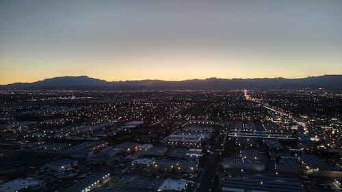 Free stock photo of city skyline, las vegas, las vegas mountains