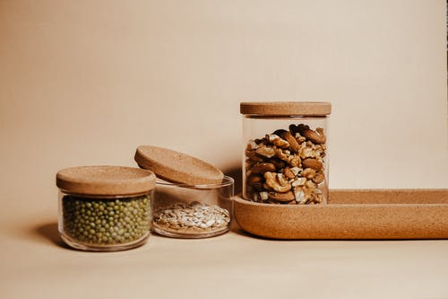 Free stock photo of agriculture, almonds, bowl