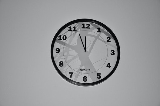 Free stock photo of black-and-white, time, watch, clock