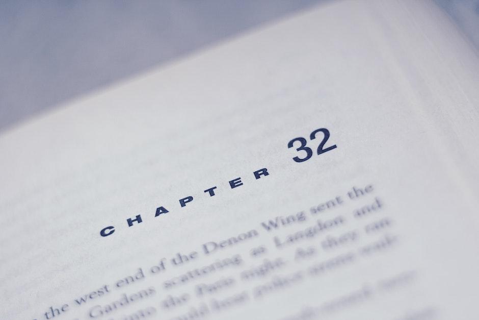 blur, book, chapter