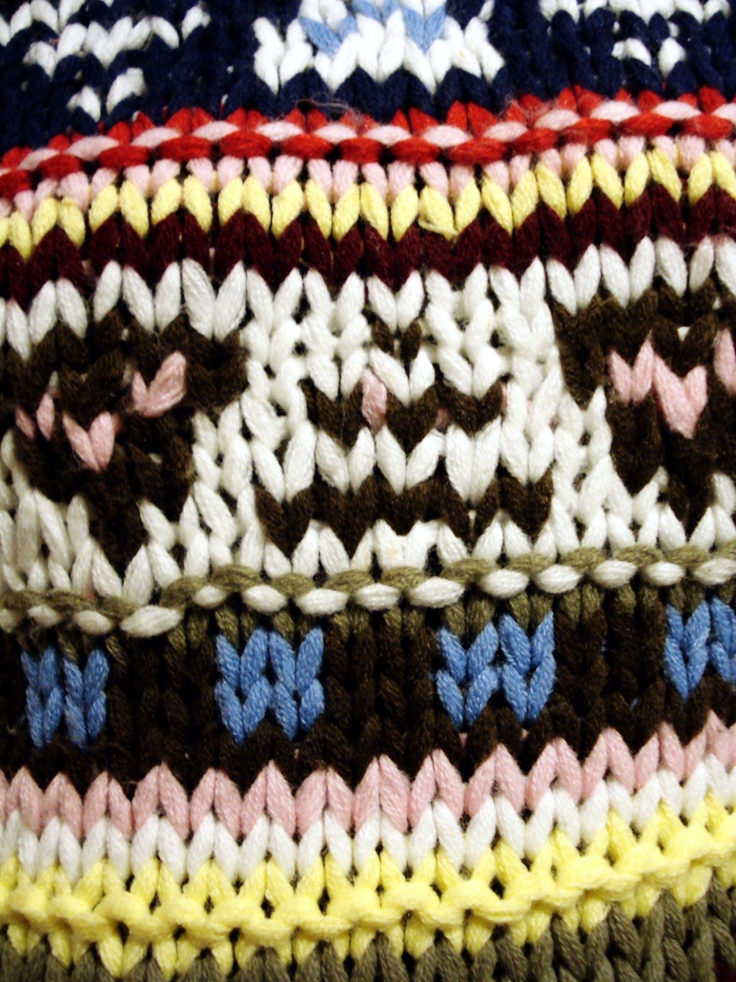 Free stock photo of fabric, wool, detail, theme patterns