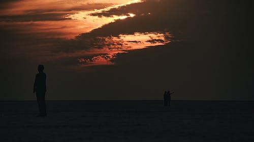 Free stock photo of atmospheric evening, beach sunset, beautiful people