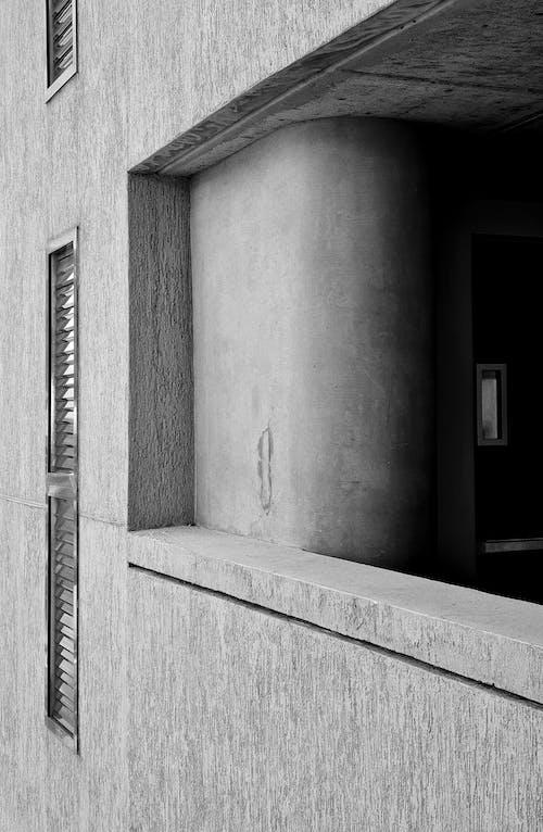 單色, 建造, 灰色混凝土 的 免費圖庫相片