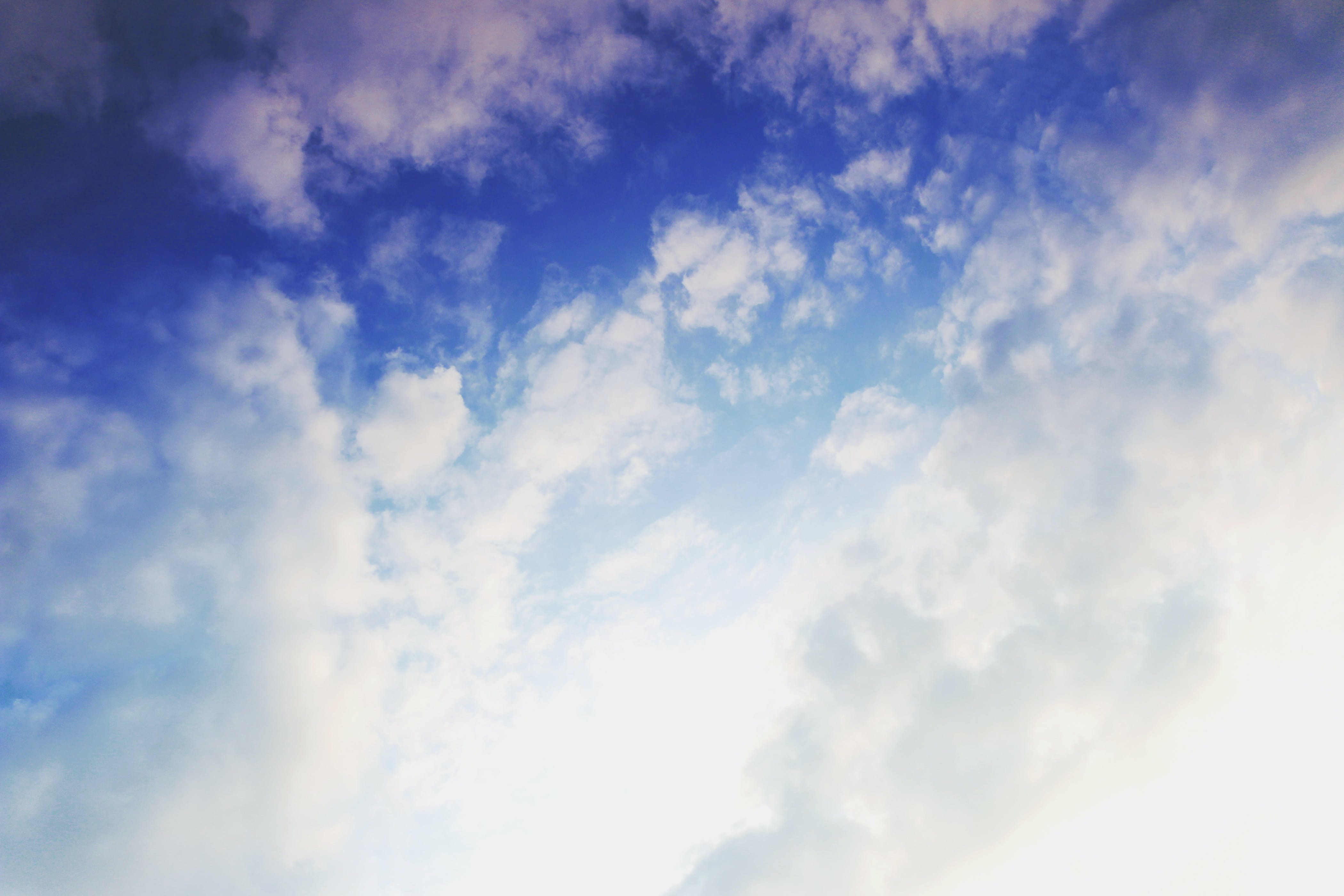 Free stock photo of blue sky, clouds, sky
