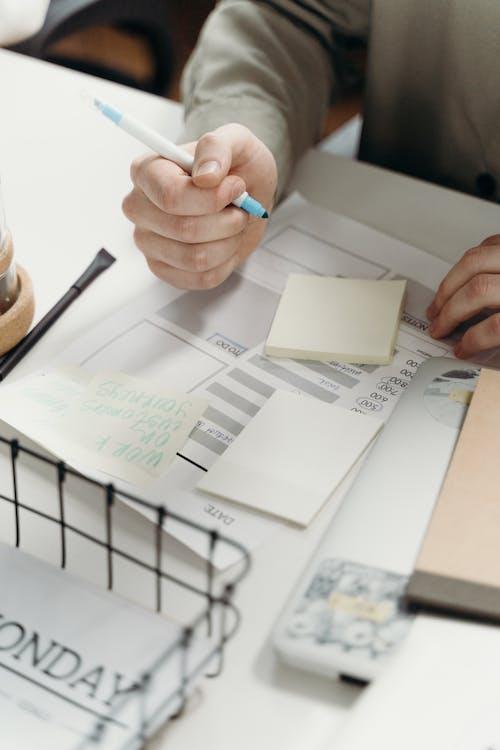 Бесплатное стоковое фото с бумага, делать заметки, заметки