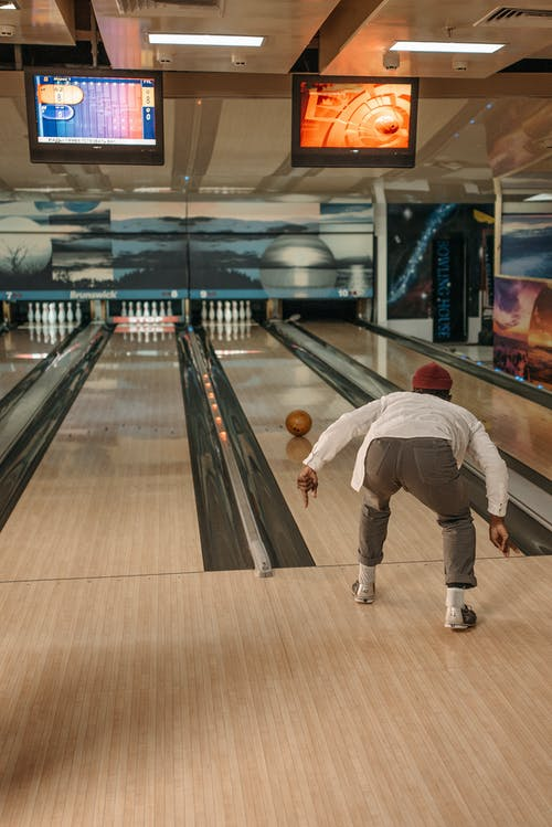 A Bowler in a Bowling Alley