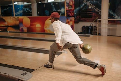 A Bowler Playing Bowling