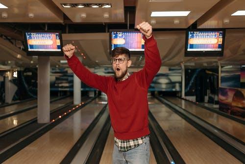 Ingyenes stockfotó beltéri, boldog, bowling témában