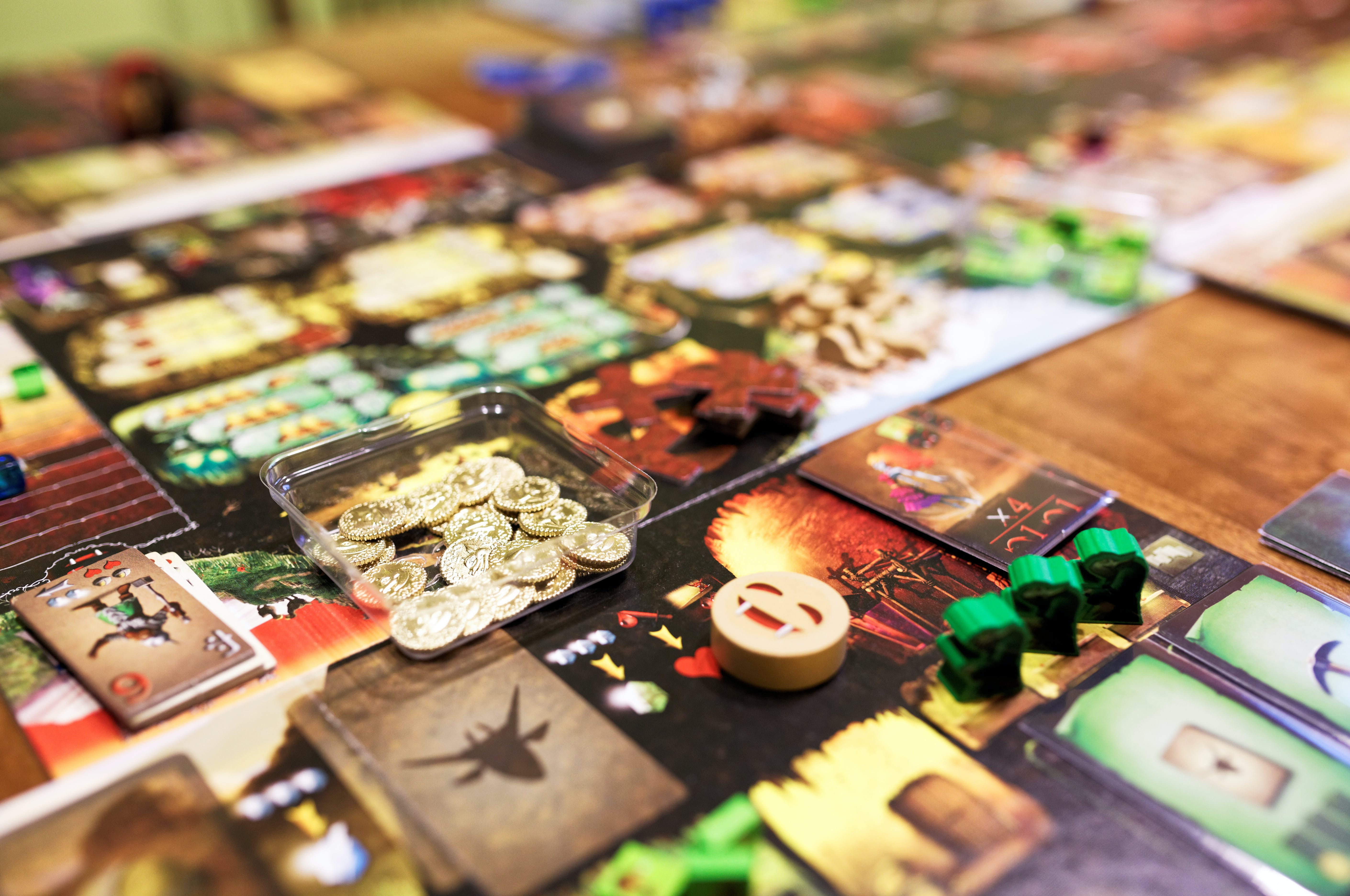Free stock photo of game, boardgame, complex, dungeon lords