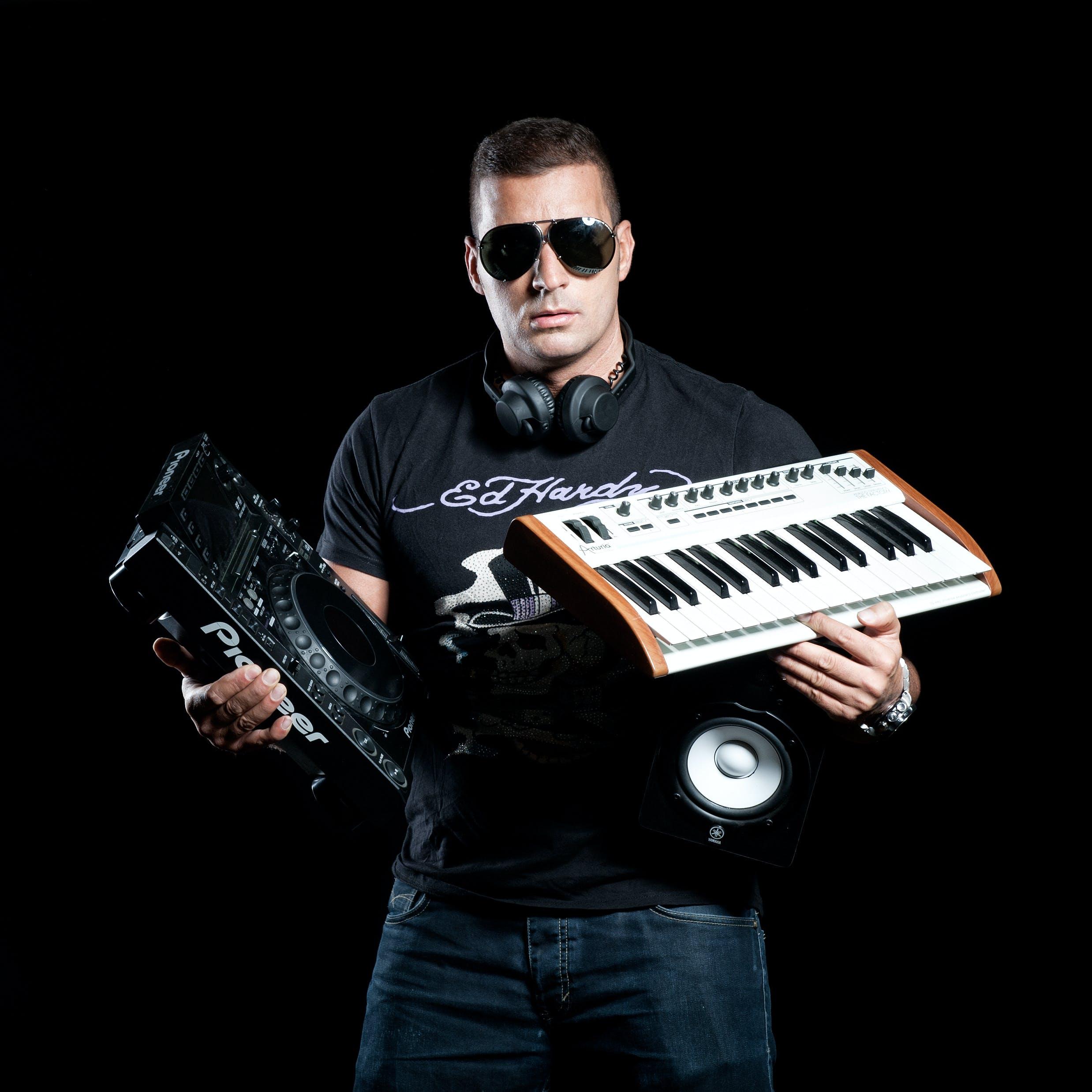 Free stock photo of dj, producer, remixer