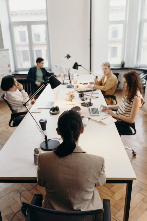 People in a Meeting
