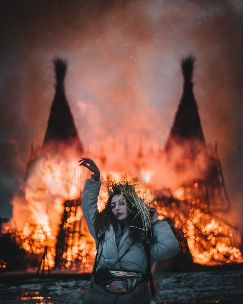 Безкоштовне стокове фото на тему «багаття, відьма, вогонь»