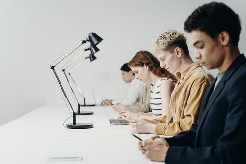 Photo of People Working