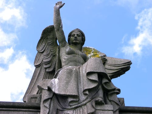 Free stock photo of angel, art deco, carving