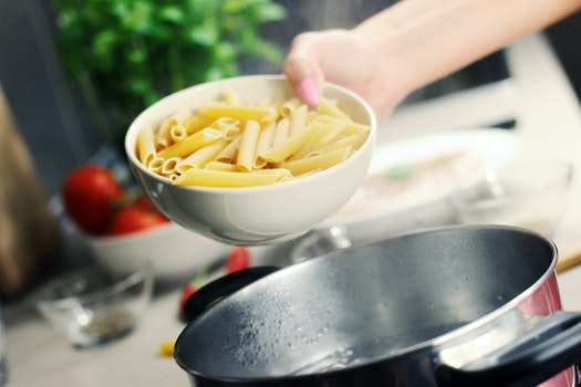 Free stock photo of food, lunch, pasta, pot