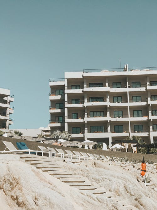 Free stock photo of architecture, beach, building