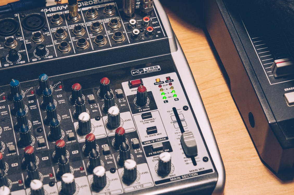 ääni, Audio, elektroniikka