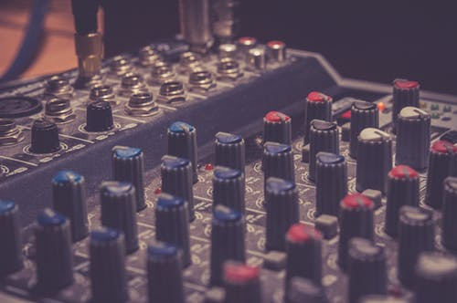 Foto stok gratis amplifier, audio, DJ Mixer, instrumen