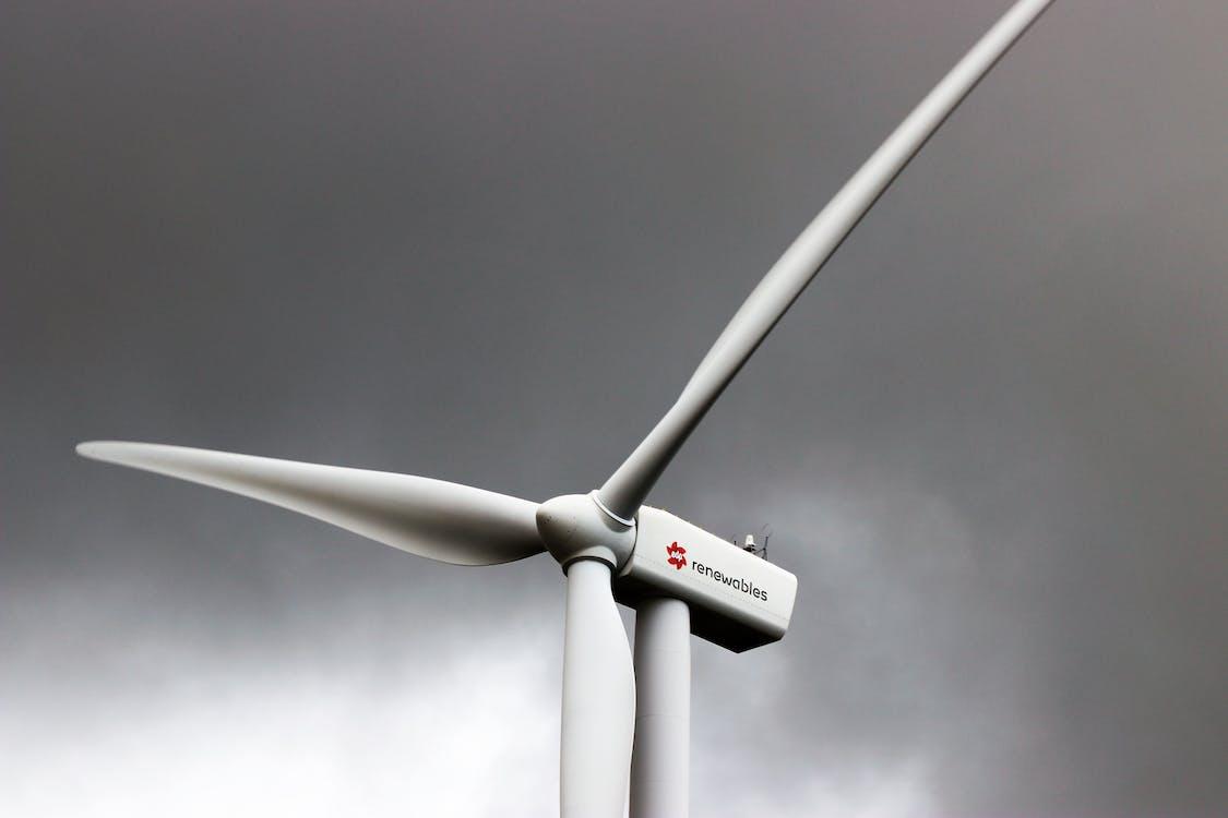 alternative, alternative energie, aufnahme von unten
