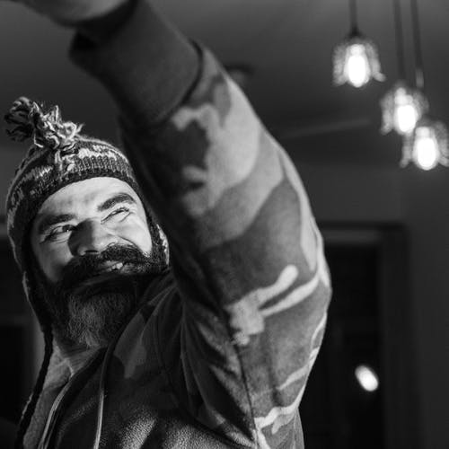 Fotos de stock gratuitas de barba, barba abundante, barba gris