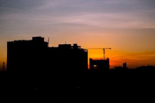 Бесплатное стоковое фото с бонго, дар, закат, небо