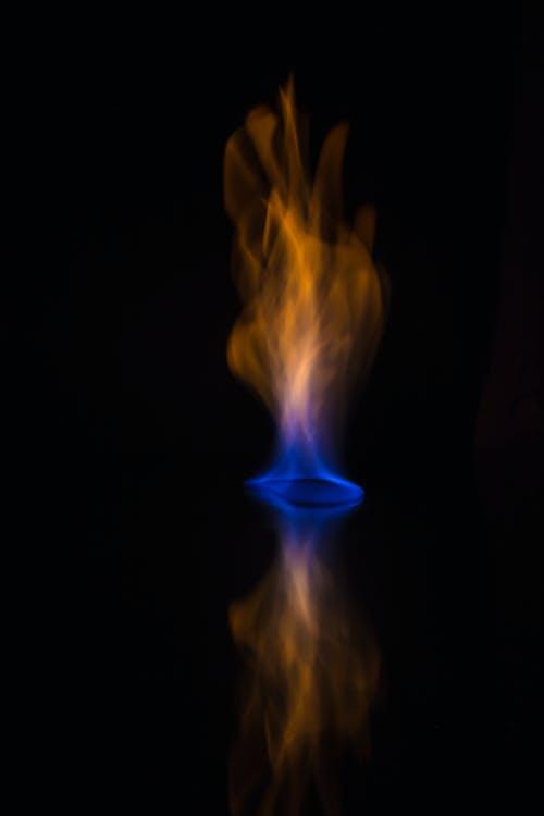Бесплатное стоковое фото с голубой, оранжевый цвет