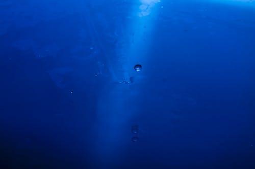 Бесплатное стоковое фото с вода, голубой, капли, капля воды