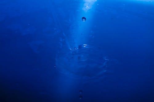 Бесплатное стоковое фото с вода, всплеск, голубой, капли воды