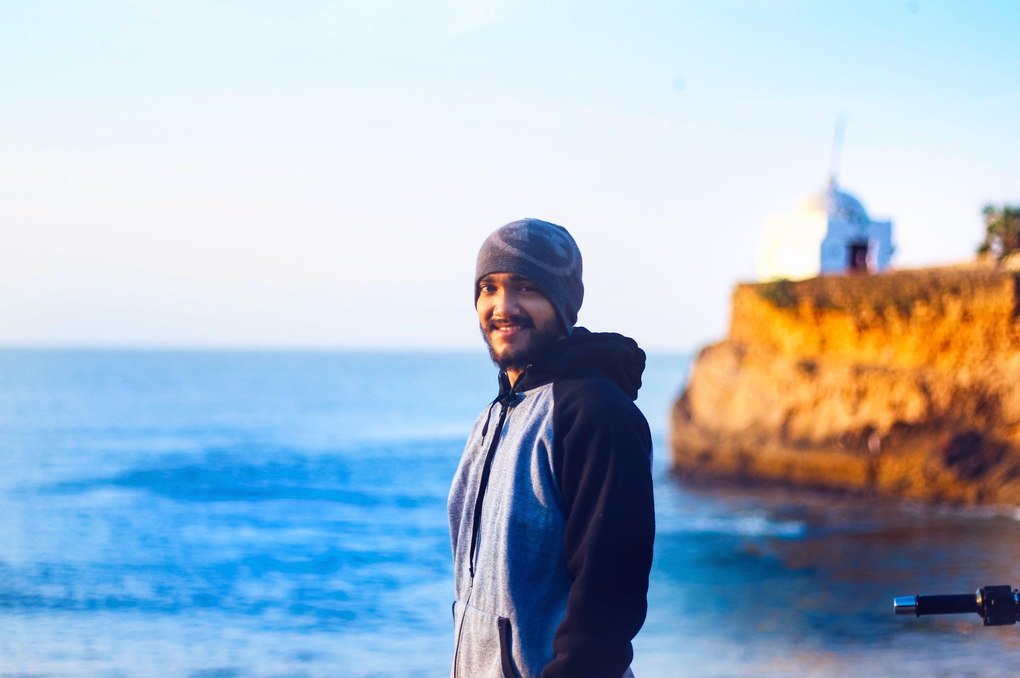 Gratis lagerfoto af dagslys, fyrtårn, hav, klippe