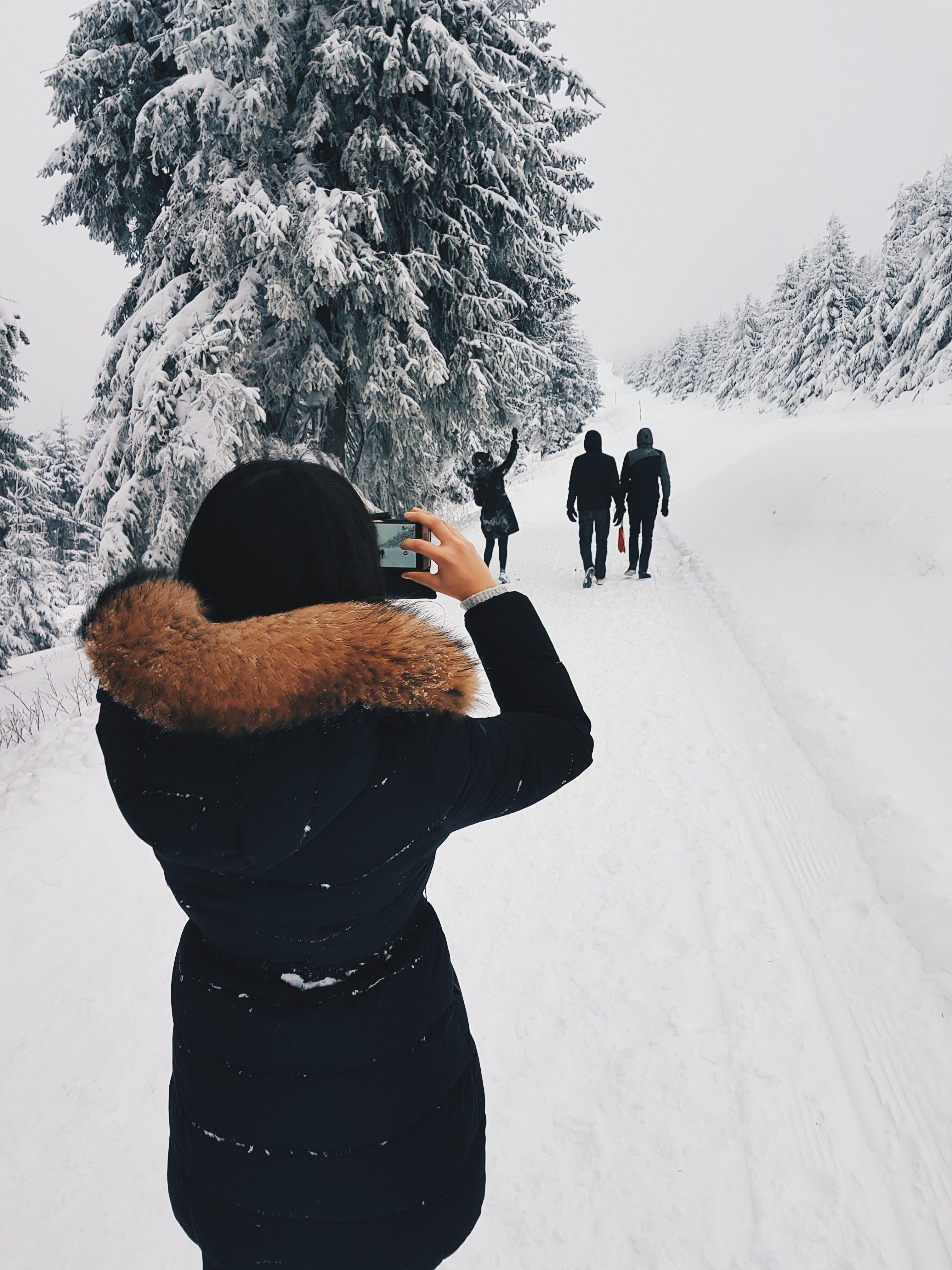 Gratis lagerfoto af dagslys, folk, forkølelse, fotograf