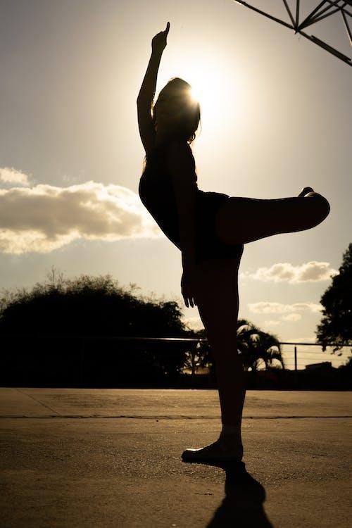 คลังภาพถ่ายฟรี ของ danca, การกระโดด, คน