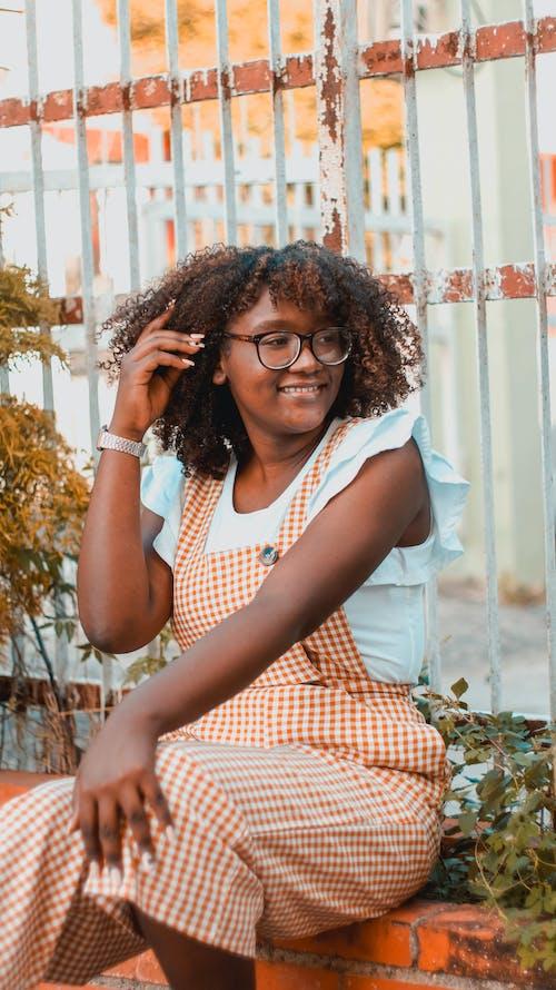 Free stock photo of adult, afro, beuatiful woman