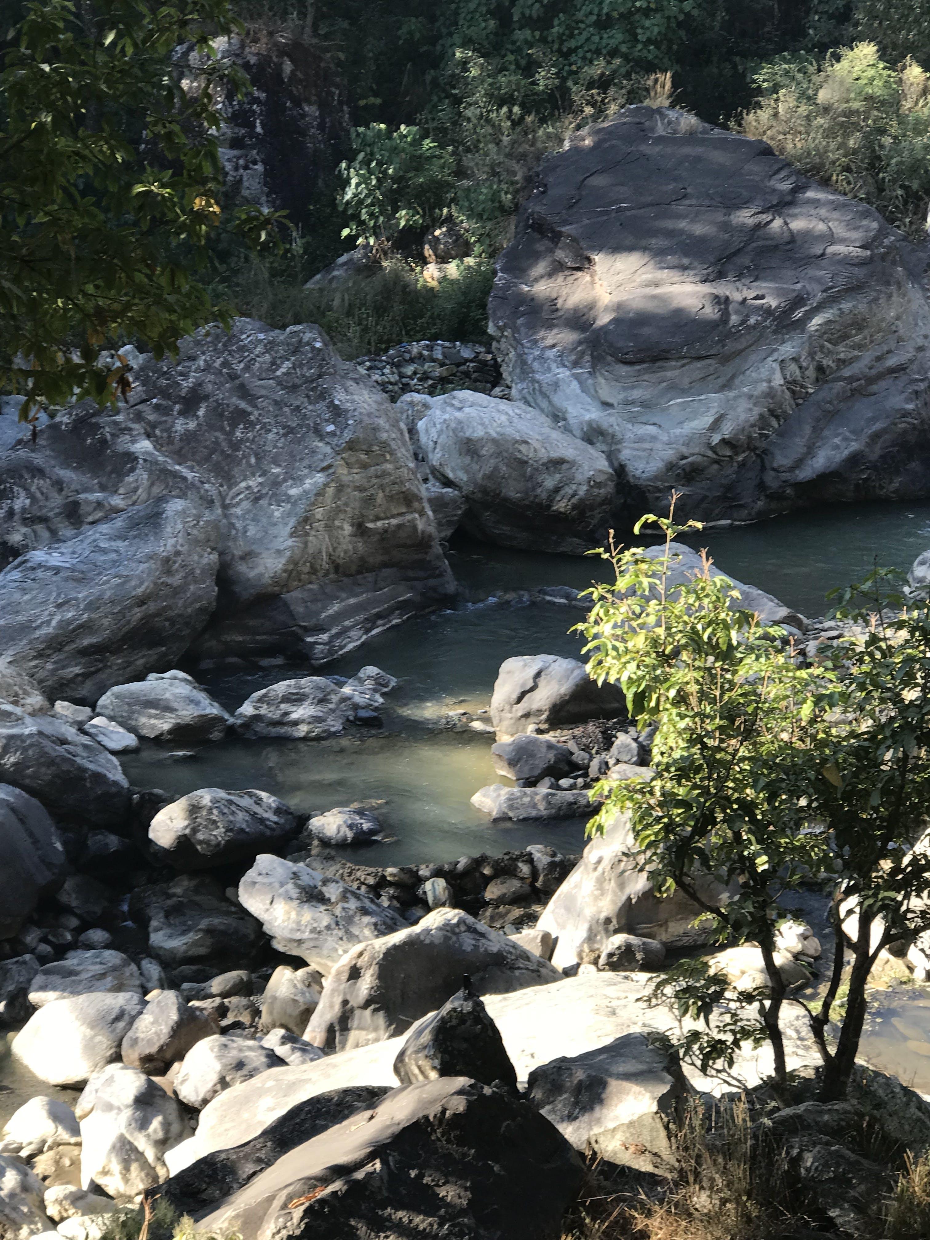 Free stock photo of Baglung Kathekhola stream Nepal